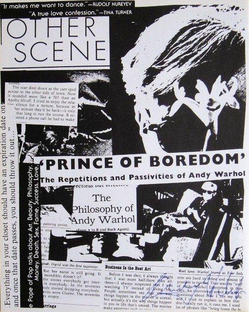 Andy Warhol, signed Print, Magazine, 1976