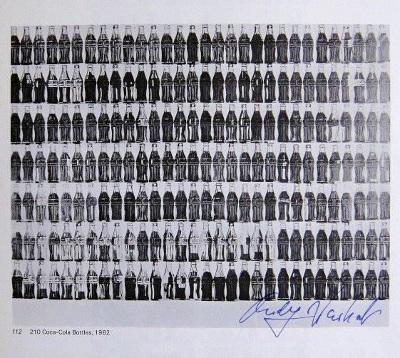 Andy Warhol, signed Print, 210 Coca-Cola Bottles, 1976
