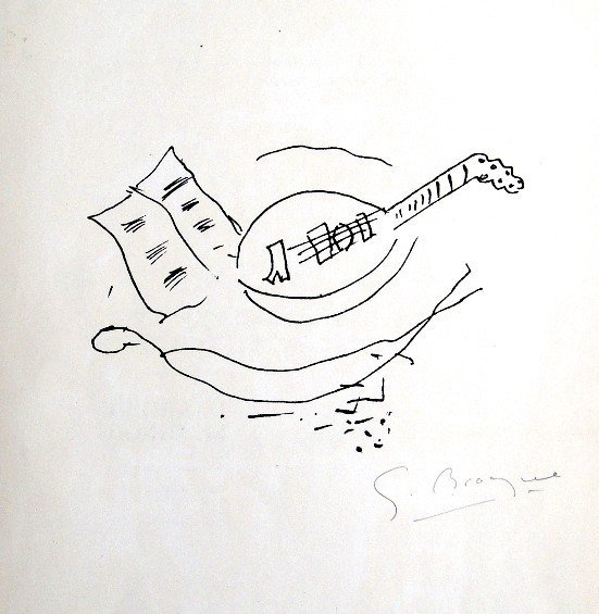 Georges Braque, original signed Lithograph, 1967