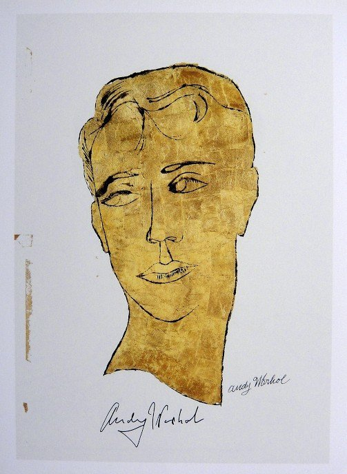 Andy Warhol, signed Print, Untitled, 1986