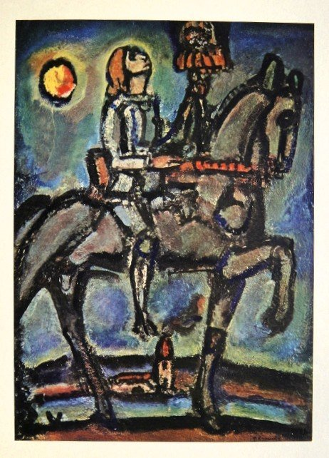 Georges ROUAULT, special Print Notre Jeanne