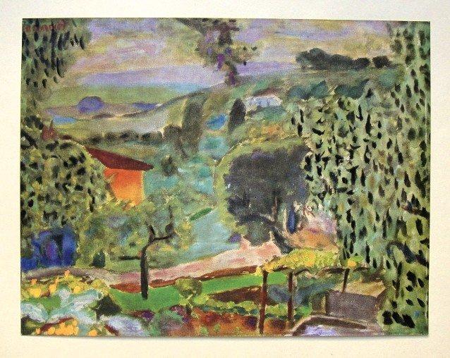 Pierre BONNARD, special Print Paysage