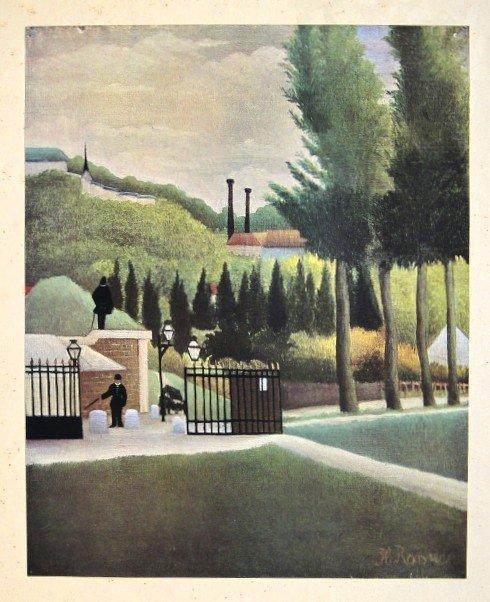 Henri ROUSSEAU, special Print L'Octroi