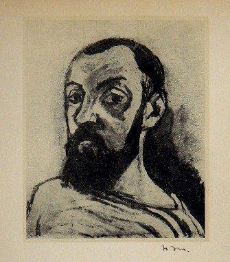 Henri MATISSE, hand signed Lithograph, 1944