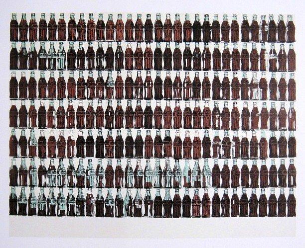 Andy Warhol,  Print, Coca-Cola Bottles, 1986