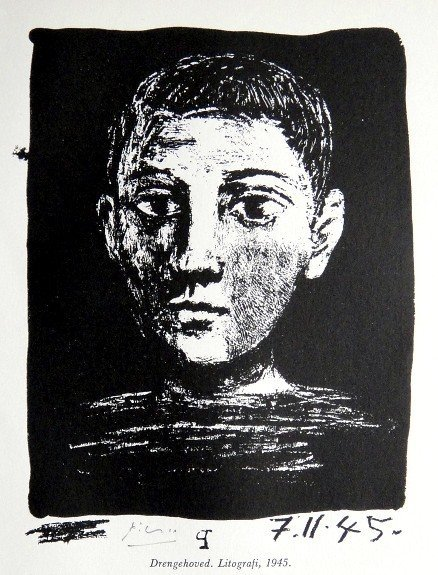 Pablo PICASSO, hand signed Lithograph, 1960