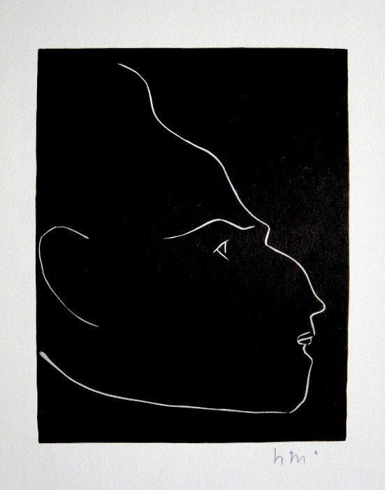 "Henri MATISSE ""Tete"" signed original Lithograph"