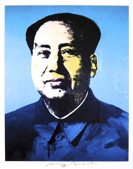 Andy Warhol, signed Print, Mao, 1986