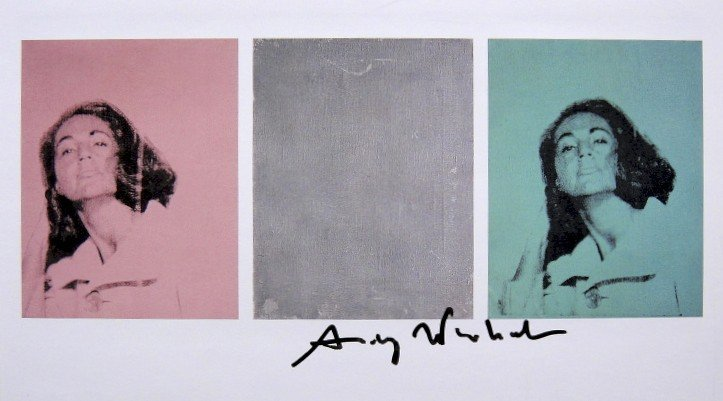 Andy Warhol, signed Print, 1986