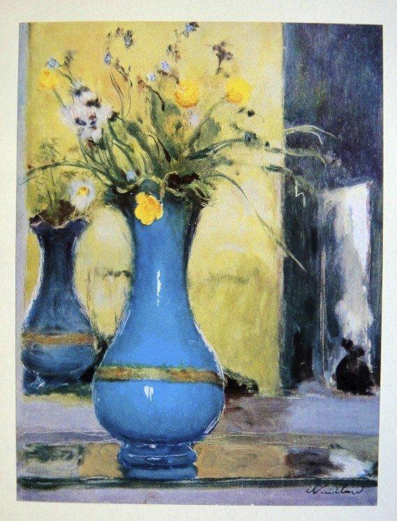Edouard VUILLARD, special Print Le Vase Bleu