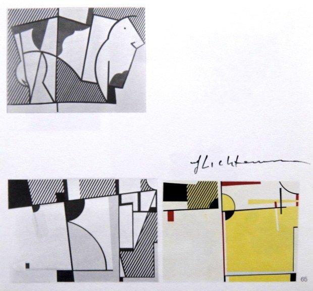 Roy LICHTENSTEIN, signed Print, Still life, 1975
