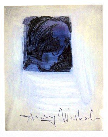 Andy Warhol, signed Print, Jackie Kennedy, 1986