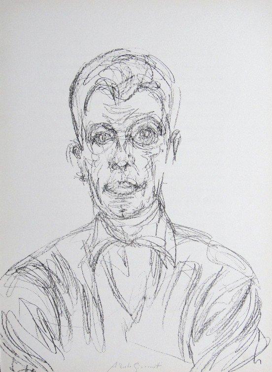 Alberto Giacometti, Original Lithograph, 1961