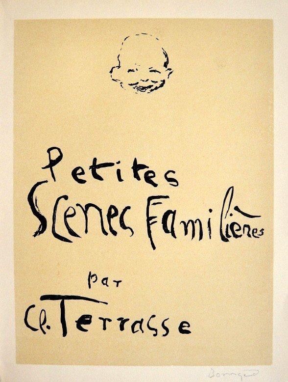Pierre BONNARD, Original Lithograph, 1942