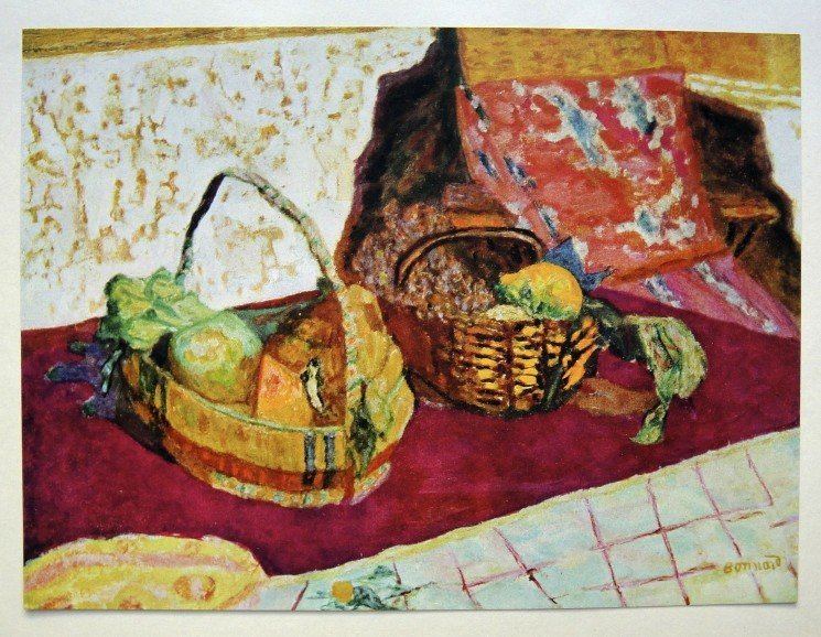 Pierre BONNARD, special Print Corbeille de Fruits