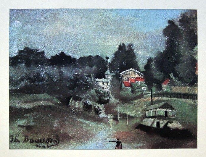 Henri ROUSSEAU, special Print Les Environs de St-Cloud