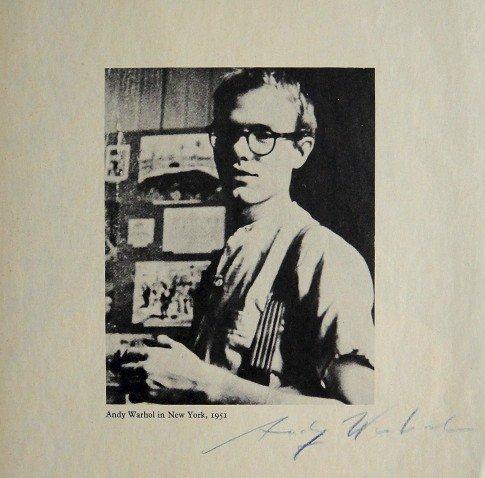 "ANDY WARHOL, Signed Print ""Andy Warhol"", 1966"