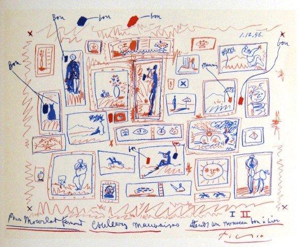 Pablo PICASSO, Picasso Lithographe IV, 1964
