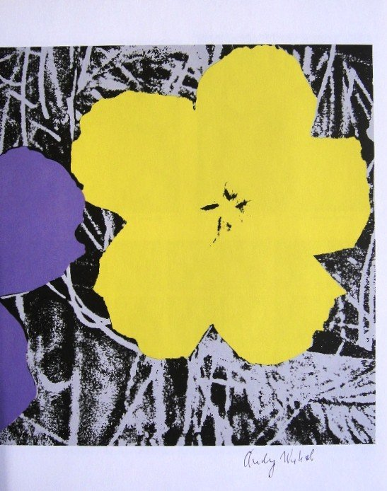 Andy Warhol, signed special Print, 1976