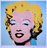 Andy Warhol, signed Print, Marilyn Monroe, 1978