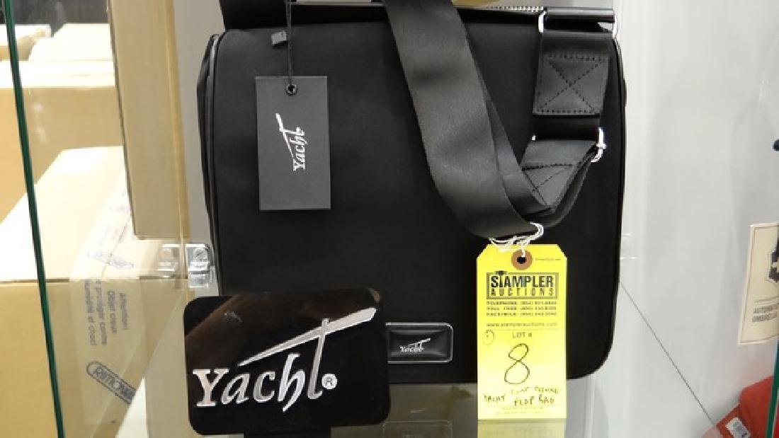 YACHT COMPACT DELUXE FLAP BAG - 100% LEATHER / 100%