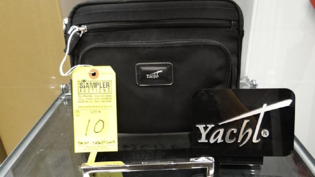 YACHT TABLET COVER - 100% LEATHER / 100% NYLON LINING -