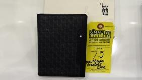 MONT BLANC PASSPORT CASE - 107237 - WITH BOX