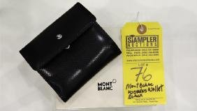 MONT BLANC WALLET - GENUINE ITALIAN LEATHER - 101731 -