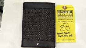 MONT BLANC PASSPORT HOLDER - 107638
