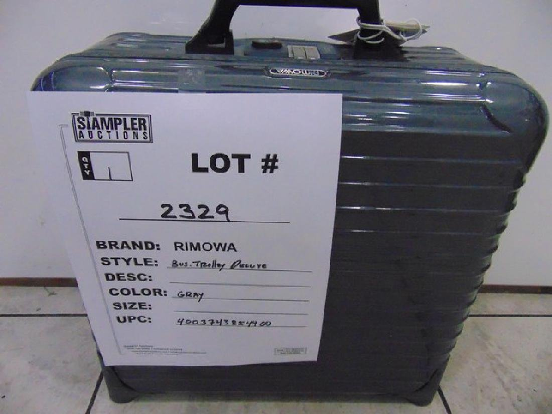 RIMOWA SUITCASE - POLY / CARB - SALSA BUSINESS TROLLEY