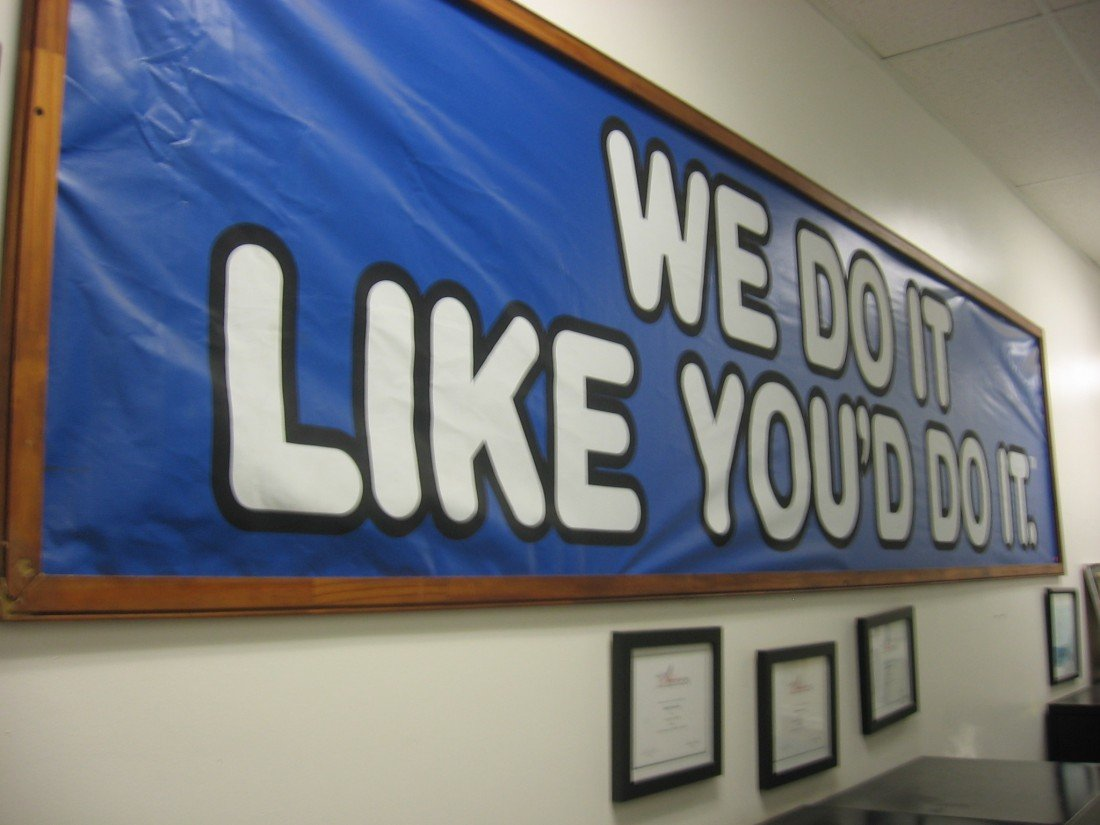 We Do It Like You Do It - Sign