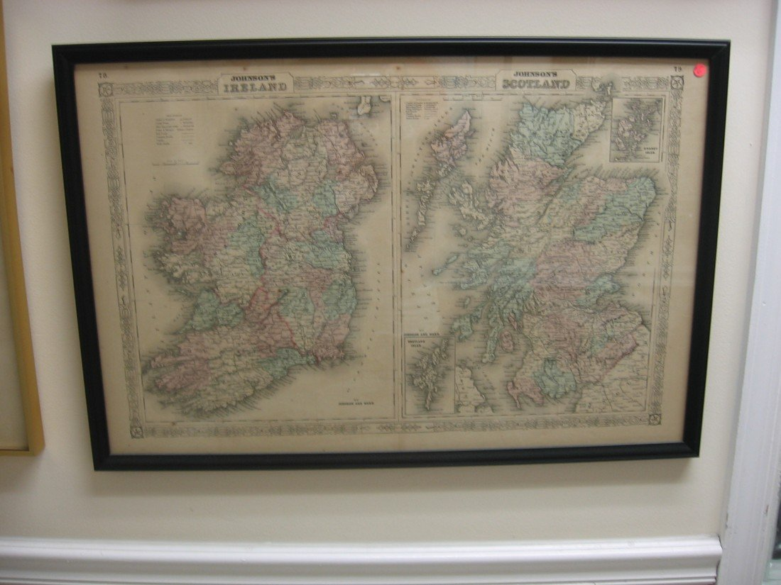 Ireland/Scotland Map
