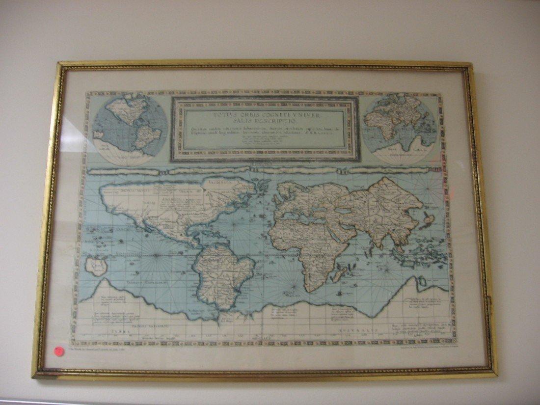 Latin World Map (1589)