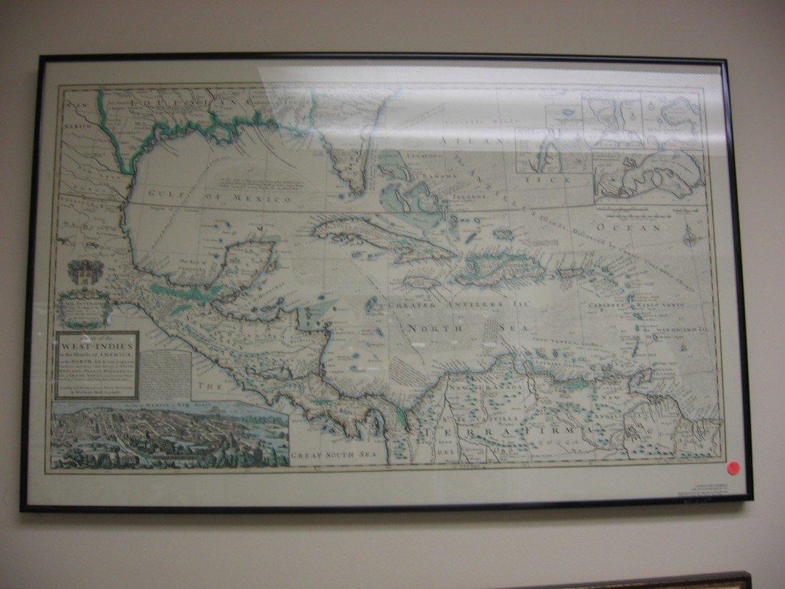 West Indies Map (1715)