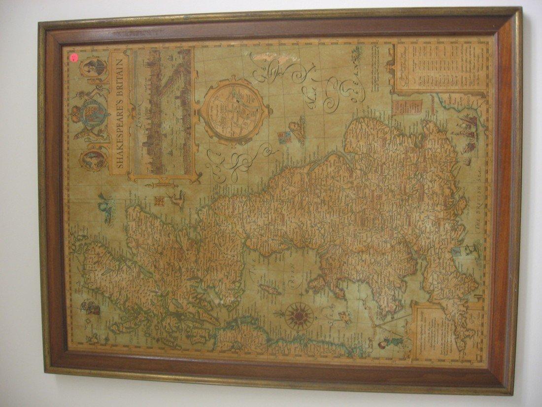 Shakespeare's Britain Map