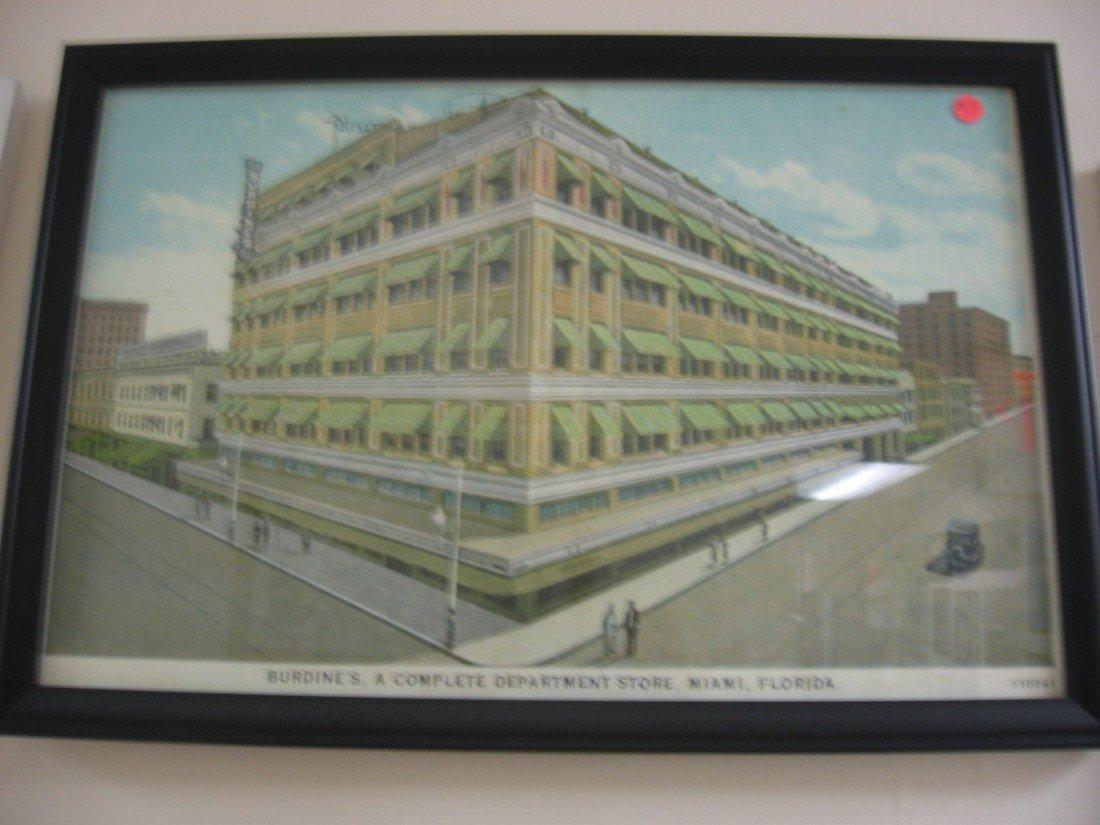 Burdines's Department Store - Advertising Piece