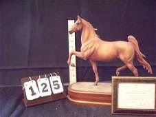 ROYAL WORCESTER 154 AMERICAN SADDLE HORSE 1973 DORIS LI