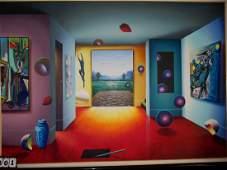 ARTWORK - SIGNED FERJO ORIGINAL - 67''x47'' P / 74''x55