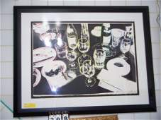 ARTWORK - BLACK & WHITE DISHES - 258/1000