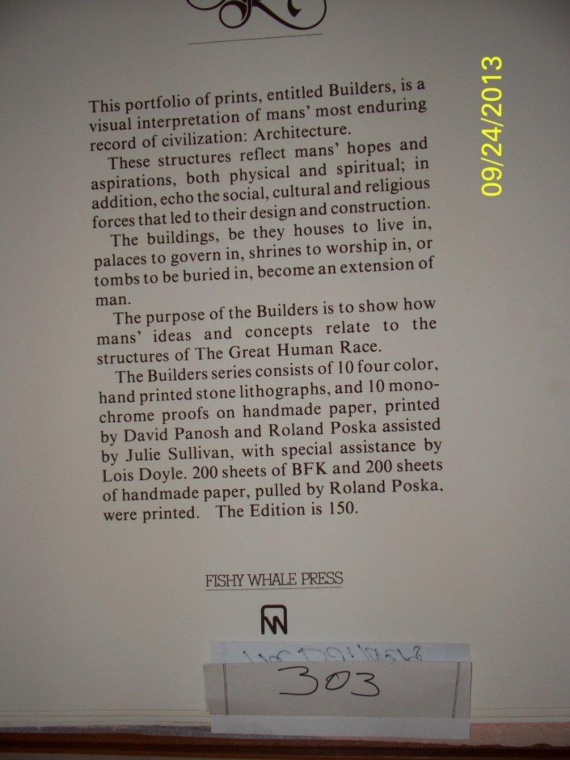 ARTWORK - JOHN DOYLE ''THE BUILDERS'' - THE GREAT HUMAN