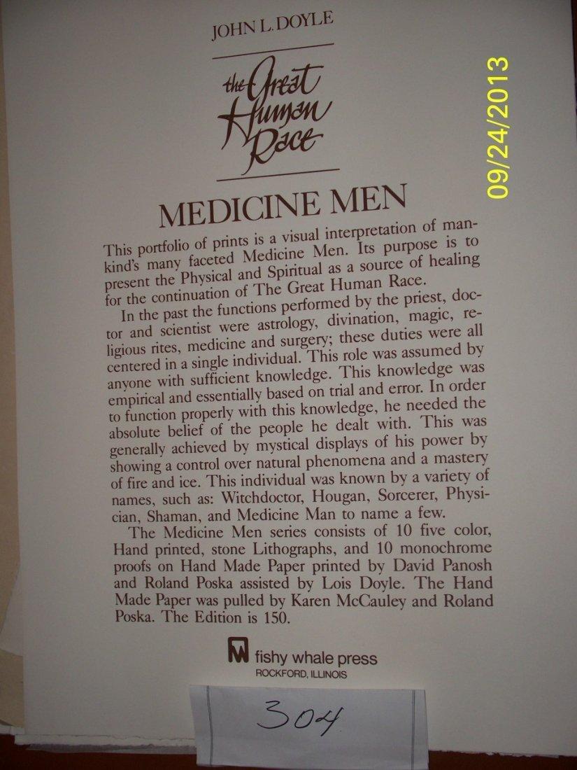 ARTWORK - JOHN DOYLE ''MEDICINE MEN'' - THE GREAT HUMAN