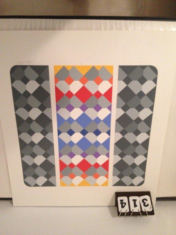 ARTWORK - CHRONOS VII - ARTIST PROOF - SIGNED (LOWER