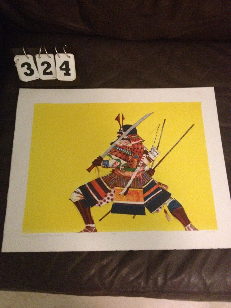 ARTWORK - JOHN DOYLE ''SAMURAI'' - THE GREAT HUMAN RACE