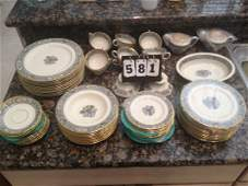 LENOX AUTUMN CHINA (SERVICE FOR 12 / 80 TOTAL PIECES) -