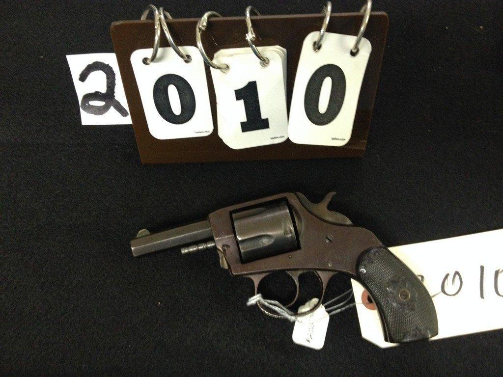 IVER JOHNSON BULLDOG CAT 885 5-SHOT REVOLVER - 2''
