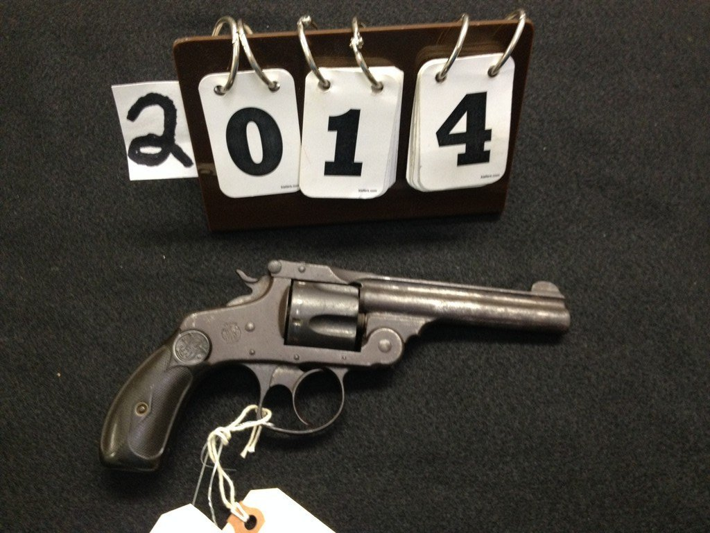 SMITH & WESSON FIFTH MODEL 5-SHOT REVOLVER - .38