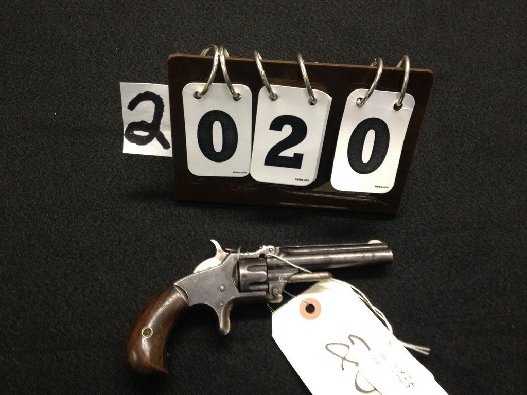 SMITH & WESSON MODEL I 3 ISSUE - .22 CALIBER - 1860