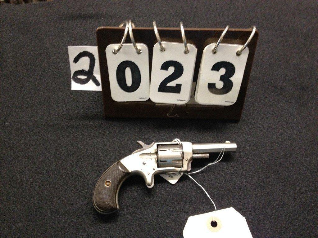 IVER JOHNSON DEFENDER 7-SHOT REVOLVER - .22 CALIBER -