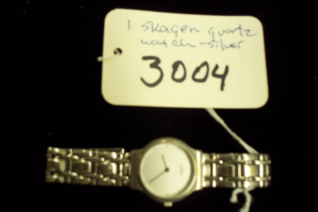 WATCH - SKAGEN - LADIES - QUARTZ / STAINLESS STEEL