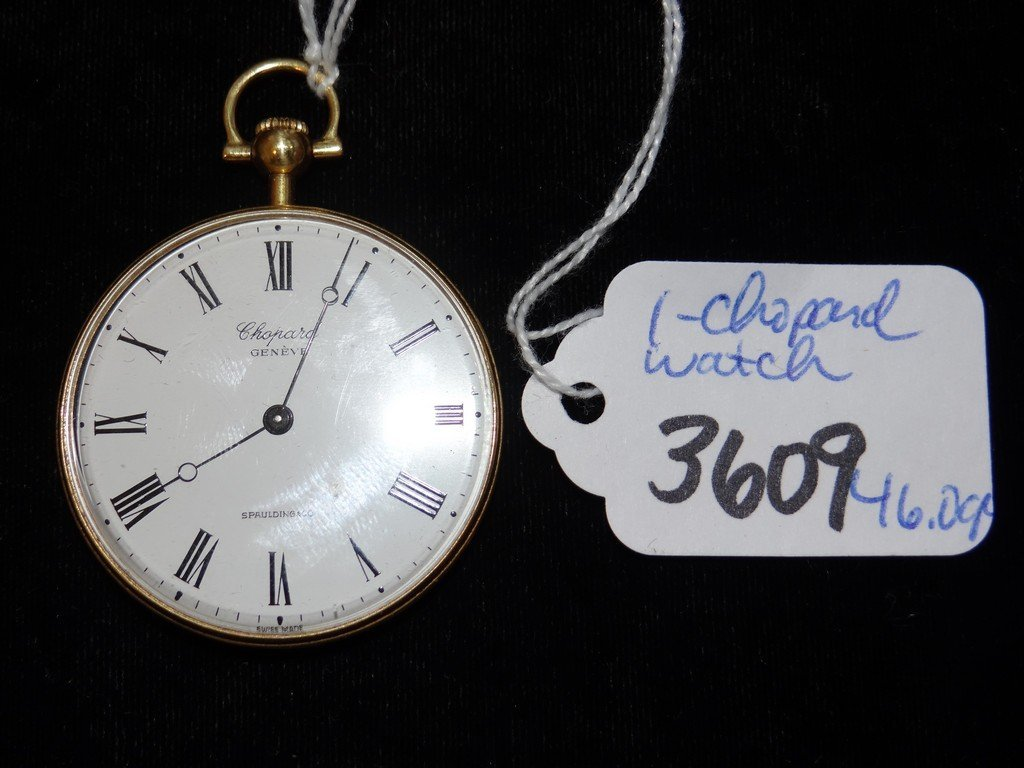 POCKET WATCH - 18K GOLD - CHOPARD GENEVE
